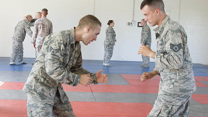Hand to Hand Combatives Training