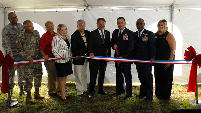 110th RPA Mission Ribbon Cutting and Open House