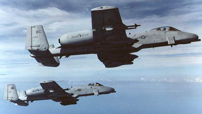 Fairchild-Republic A/OA-10A Thunderbolt II 1991-2007
